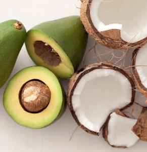 Coco e abacate